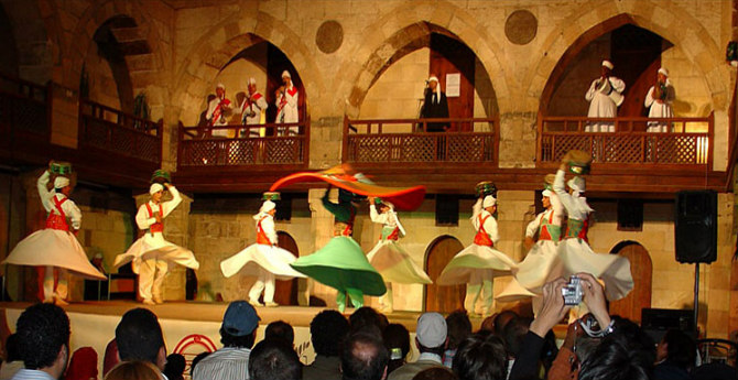 Al Tannoura Heritage Dance Troupe Cairo