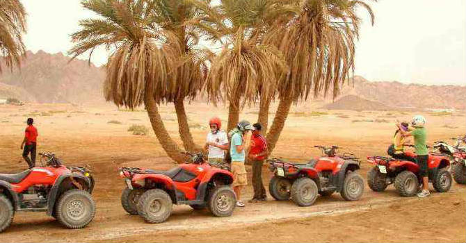 Sharm El Sheikh Quad Biking Tour