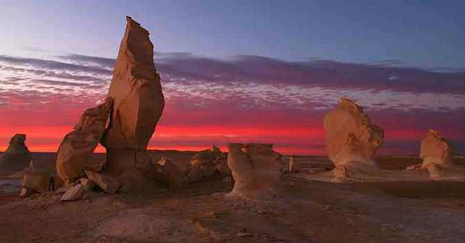 5 Days Egypt Western Desert Tours From Cairo