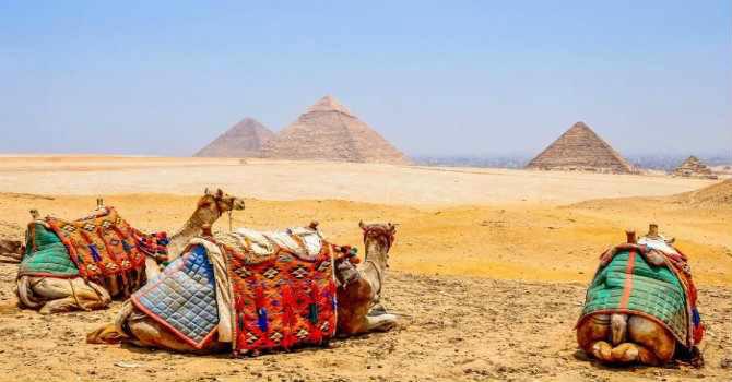 Giza Pyramids & Egyptian Museum Trip