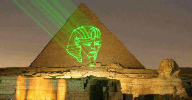 Sound & Light Show in Giza Pyramids