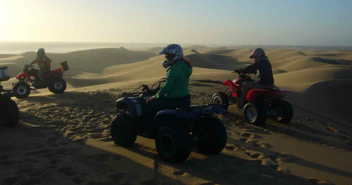 Quad Biking at Giza Pyramids