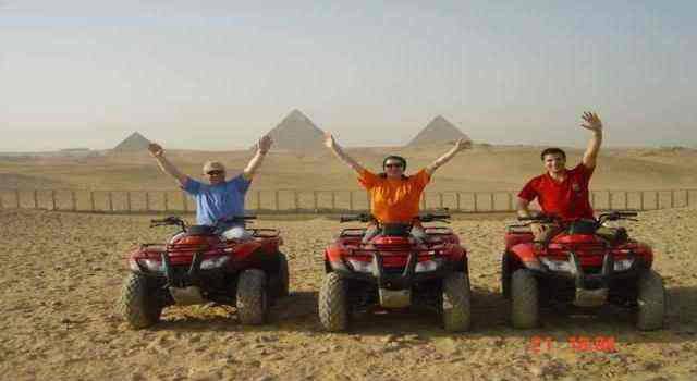 Quadbiking in Giza Pyramids From Port Said