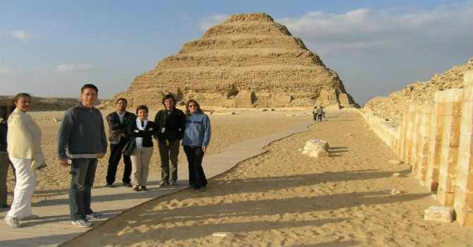 Giza Pyramids Tour From Port Said