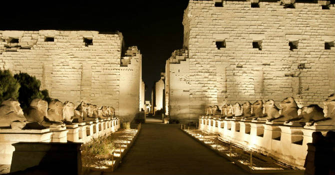 Karnak Light & Sound Show Tours in Luxor