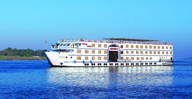 5 Day Movenpick MS Royal Lotus Nile Cruise