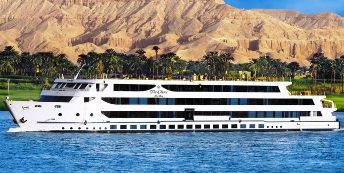 8 Day Oberoi Zahra Nile Cruise From Luxor