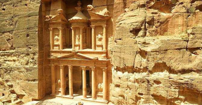 Petra Day Tours By Ferry Boat From Taba