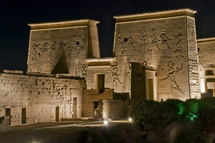 Philae Light & Sound Show Tours in Aswan