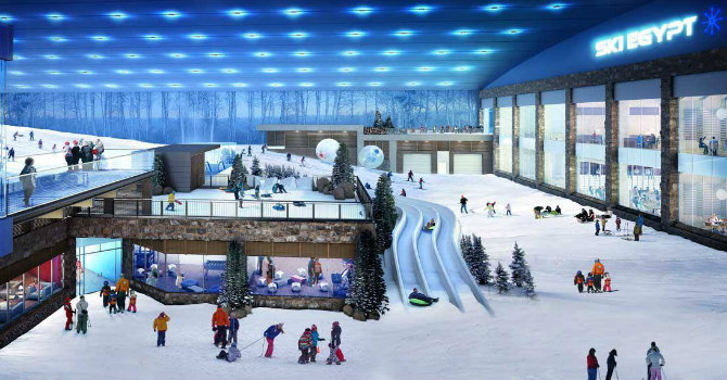Ski Egypt | Skiing in Egypt | Mall of Egypt Ski | Polar Egypt
