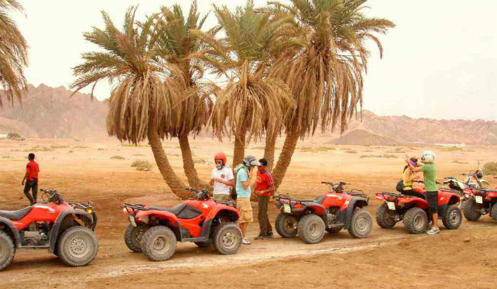 Quadrunner Adventure Safari Tours in Hurghada
