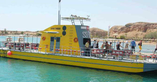 Semi Submarine Sharm El Shiekh