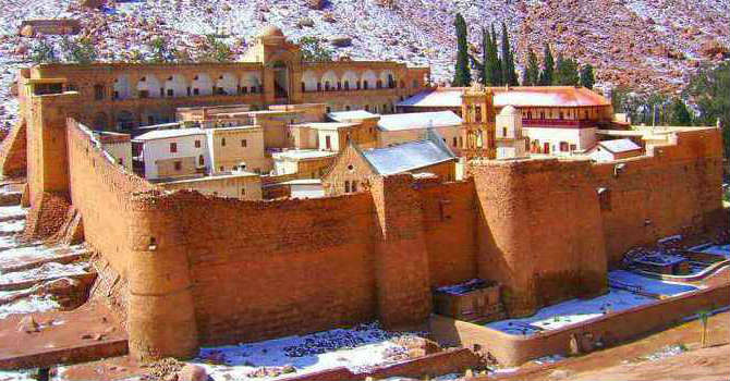 St. Catherine Sightseeing Tours From Sharm