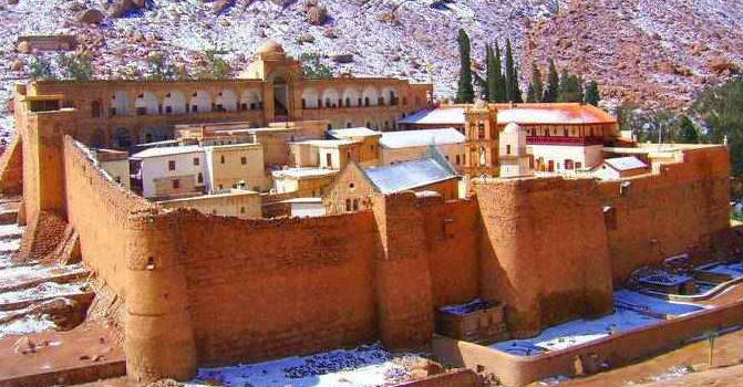 Sinai St. Catherine Monastery Tours From Cairo