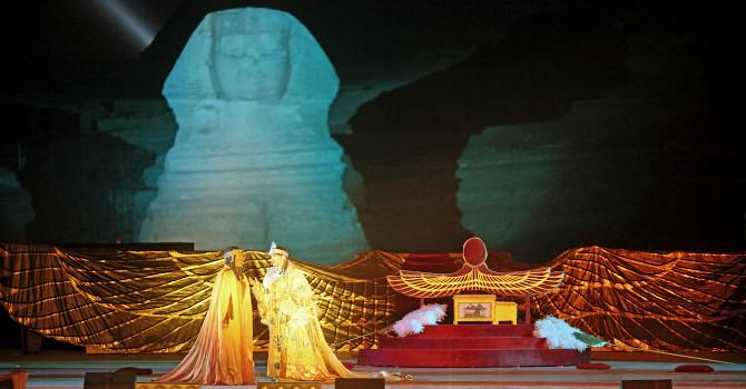 Giza Pyramids Verdi Aida Opera Tickets